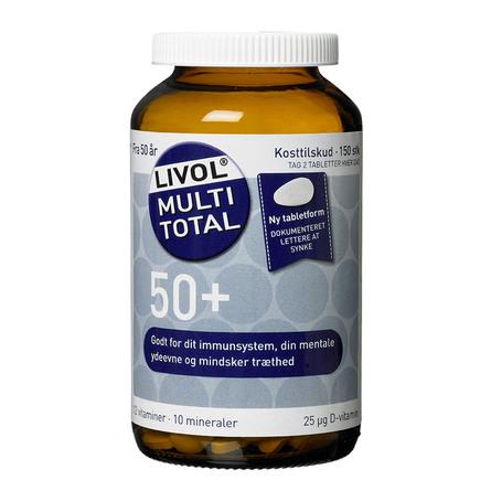Livol Multi Total 50+ 150 tabl.