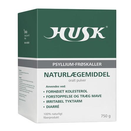 HUSK Psyllium frøskaller 750 g