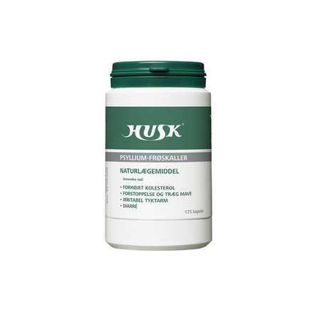 HUSK Psyllium frøskaller 175 kaps.