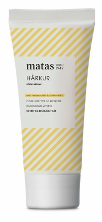 Matas Striber Hårkur til Tørt og Beskadiget Hår Uden Parfume 200 ml
