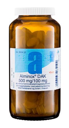 Alminox Tyggetablet 200 stk