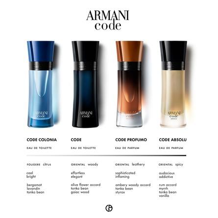 Giorgio Armani Armani Code Colonia Eau de Toilette 125 ml