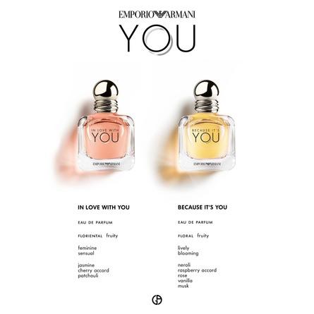 Giorgio Armani Emporio In Love with You Intense Eau de Parfum 50 ml