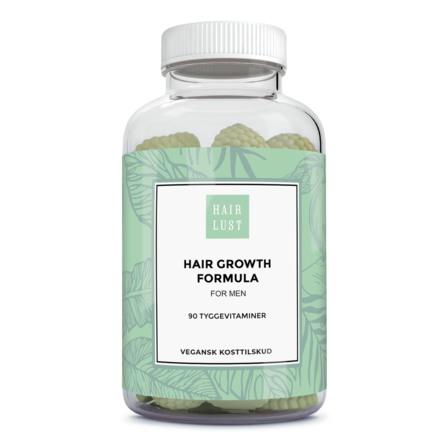 HairLust Hair Gummies Men 90 stk