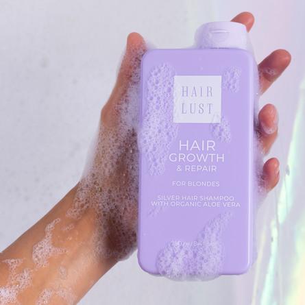 HairLust Hair Growth & Repair Shampoo Blondes 250 ml