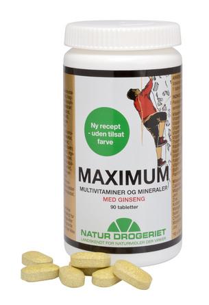 Natur Drogeriet Maximum 90 tabl.