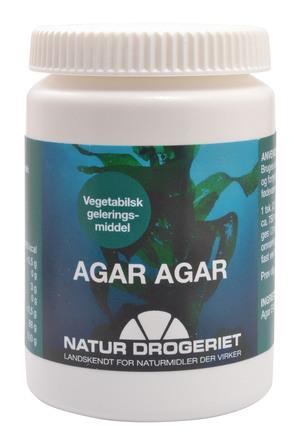 Natur Drogeriet Agar-Agar pulver (tang - stivelse) 50 g