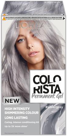 L'Oréal Paris Colorista Permanent Gel Silver Grey