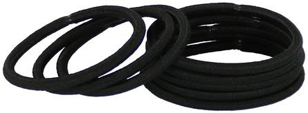 SZN Hårelastikker 8 stk., sort