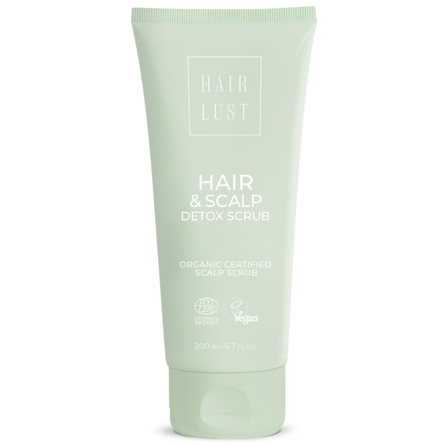 HairLust Hair & Scalp Detox Scrub 200 ml