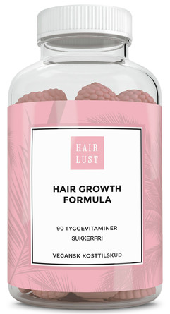 HairLust Hair Gummies 90 stk