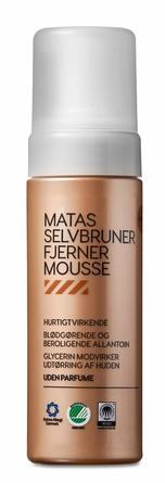 Matas Striber Selvbrunerfjernermousse Uden Parfume 150 ml