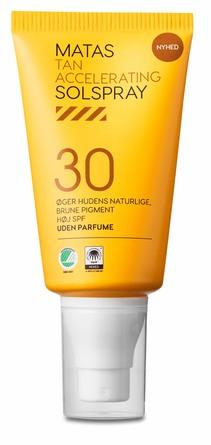 Matas Striber Tan Accelerating Solspray SPF 30 Uden Parfume 150 ml