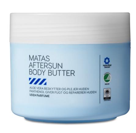 Matas Striber Aftersun Body Butter uden Parfume 250 ml