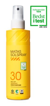 Matas Striber Solspray SPF 30 Uden Parfume 200 ml