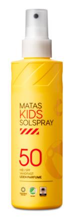 Matas Striber Kids Solspray SPF 50 Uden Parfume 200 ml