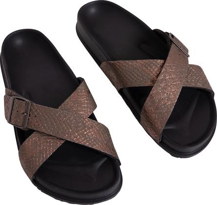 Laze Dame Sandal med Kobber Str. 38/39