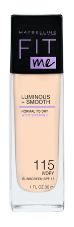 Maybelline Fit Me Luminous & Smooth Foundation 115 Ivory