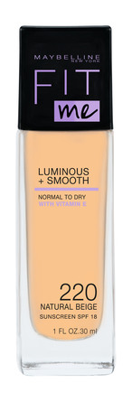 Maybelline Fit Me Luminous & Smooth Foundation 220 Nature