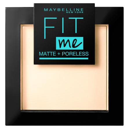 Maybelline Fit Me Matte & Poreless Pudder 105 Natural Ivory