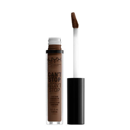 NYX PROFESSIONAL MAKEUP Can't Stop Won't Stop Contour Concealer Deep Cool