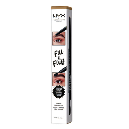 NYX PROFESSIONAL MAKEUP Fill & Fluff Eyebrow Pomade Pencil Blonde