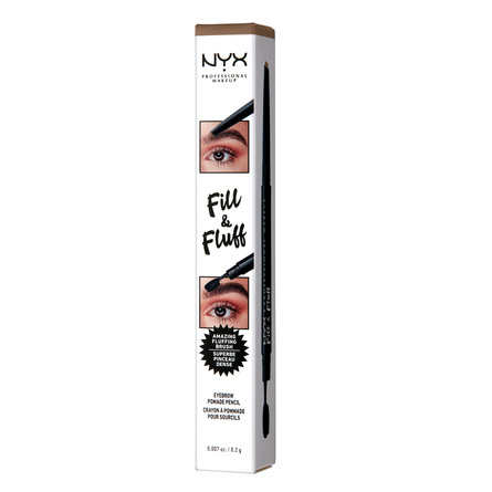 NYX PROFESSIONAL MAKEUP Fill & Fluff Eyebrow Pomade Pencil Taupe