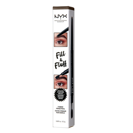NYX PROFESSIONAL MAKEUP Fill & Fluff Eyebrow Pomade Pencil Ash Brown