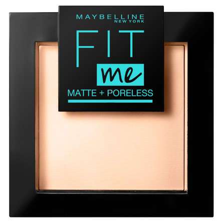 Maybelline Fit Me Matte & Poreless Pudder 120 Classic Ivory