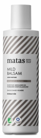 Matas Striber Mild Balsam til Normalt Hår Uden Parfume 250 ml