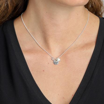 Pilgrim Rumi, halskæde Sølv belagt