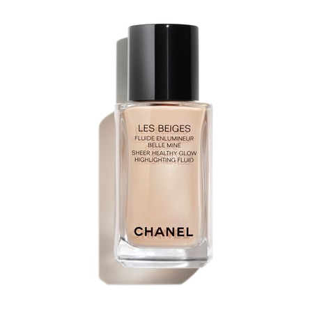CHANEL SHEER FLUID HIGHLIGHTER FOR A LUMINOUS HEALTHY GLOW PEARLY GLOW