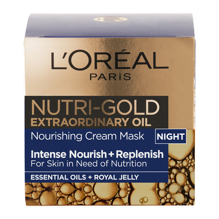 L'Oréal Paris LOréal Nutri Gold Extraordinary Night Cream 50 ml