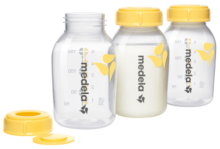 Medela Brystmælksflaske 3 stk á 150 ml