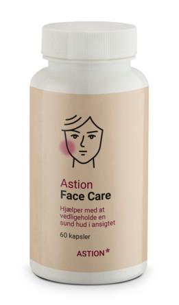Astion Pharma Face Care kosttilskud 60 kapsler