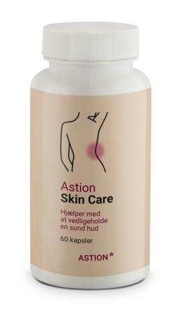 Astion Pharma Skin Care kosttilskud 60 Kapsler