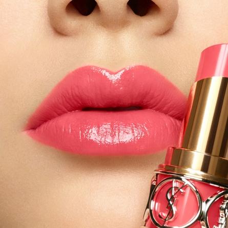 Yves Saint Laurent Rouge Volupté Shine Lip Gloss 13 Pink Babylone