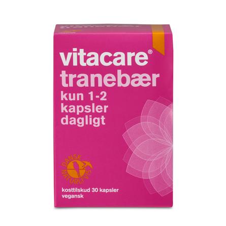 VitaCare Tranebær 30 kaps.