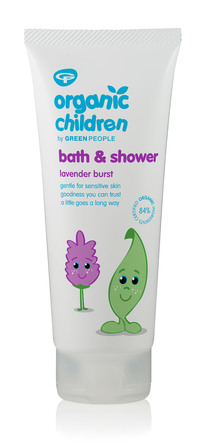 Green People Bath & Shower - Lavender Burst 200 ml