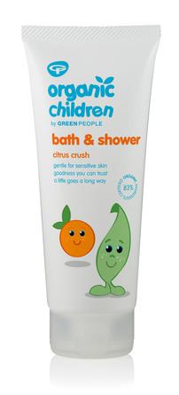 Green People Bath & Shower - Citrus Crush 200 ml