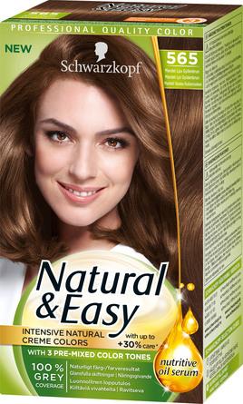 Schwarzkopf Natural & Easy 565 Lys Gyldenbrun