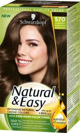 Schwarzkopf Natural & Easy 570 Mellembrun
