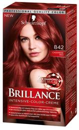 Schwarzkopf Brillance 842 Cashmere Red
