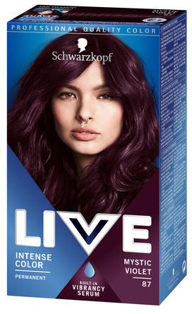 Schwarzkopf LIVE Intense Color 87 Mystic Violet