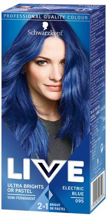 Schwarzkopf LIVE Ultra Brights 95 Electric Blue