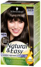 Schwarzkopf Natural & Easy Iskold Mørkebrun 583
