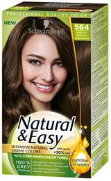 Schwarzkopf Natural & Easy 564 Naturlig lysebrun
