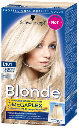 Schwarzkopf Blonde L101 Silver Blonde Platinum