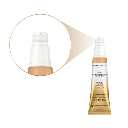 Max Factor Miracle Touch Second Foundation 04 Light Medium