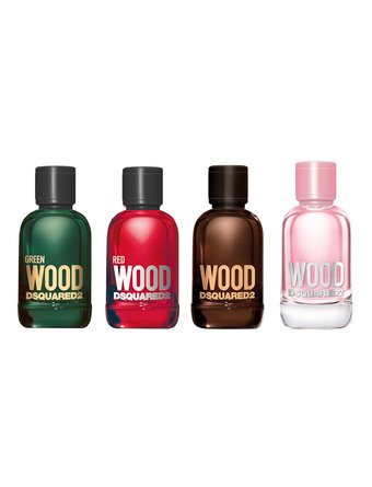 Dsquared2 One-shot Travel Kit Miniature with Red&Green 4 x  5 ml